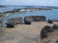 Marigot Bay and the lagoon St Maarten